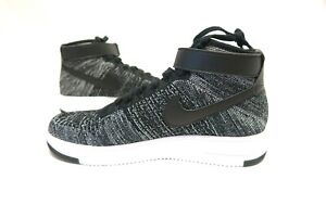 sale retailer e2495 77ae1 Image is loading Nike-Air-Force-1-Ultra-Flyknit-Mid-Oreo-