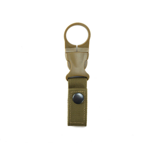Water Bottle Holder Buckle Hook Clamp Clip For Camping Climbing  Outdoor Travel