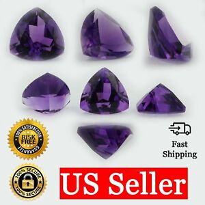 Loose-Trillion-Cut-Genuine-Natural-Amethyst-Stone-Single-Purple-Birthstone-Shape