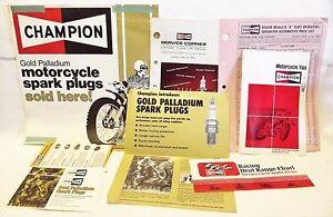 Vintage Motorcycle Snowmobile 72 Champion Spark Plug