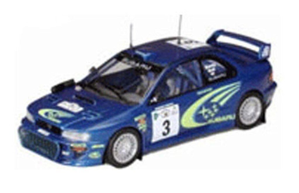 TROFEU 1118 SUBARU IMPREZA WRC RALLYE VOITURE Richard Burns Reid Safari 2000 1 43rd