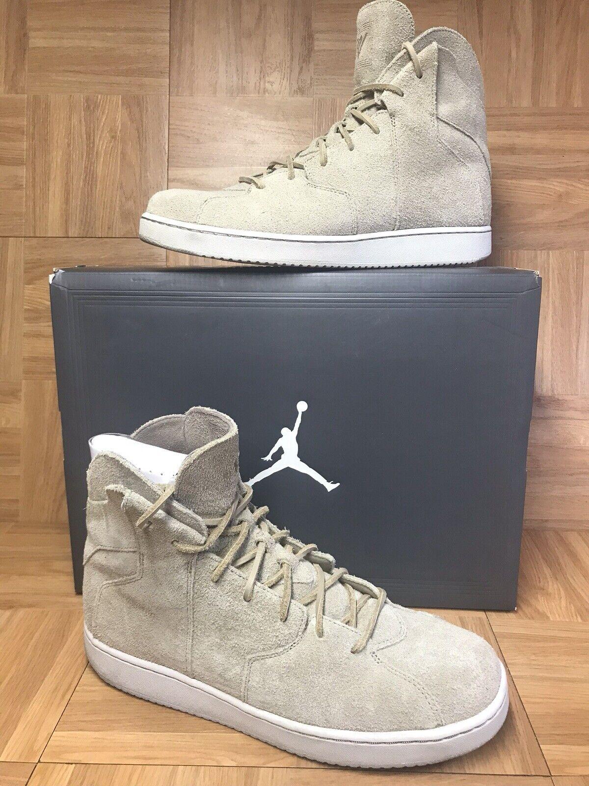 RARE Nike Air Jordan Westbrook 0.2 Khaki Suede Sz 11 854563-209 Men's shoes
