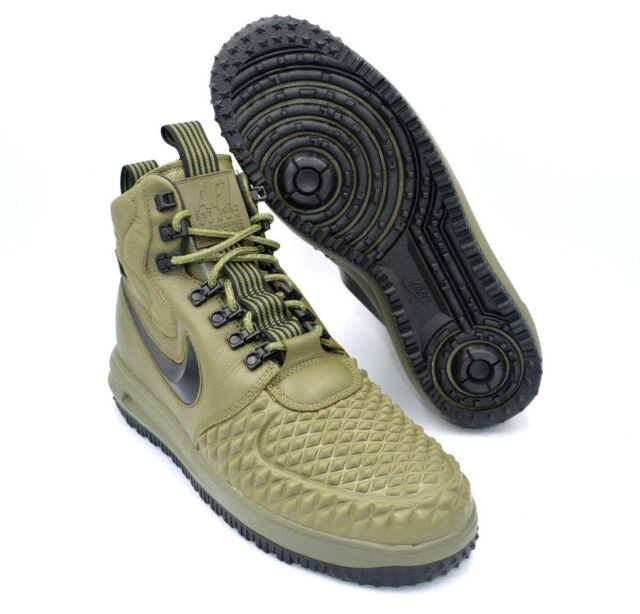 31b7f12f1f3e3 Nike Lunar Force 1 Duckboot 2017 Men Lifestyle SNEAKERS Olive 916682 ...