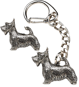 Scottie-Dog-Key-ring-And-Pin-Badge-Boxed-Gift-Set-Handcrafted-In-Pewter
