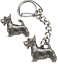 Scottie-Dog-Key-ring-And-Pin-Badge-Boxed-Gift-Set-Handcrafted-In-Pewter thumbnail 1