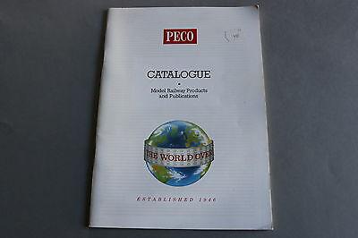 Di Carattere Dolce X378 Peco Train Catalogue 1994 86 Pages 29,7*21 Cm Angl Model Railway Products I Prodotti Sono Venduti Senza Limitazioni