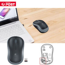 2 4g Wireless Logitech Mouse M185 Easy Compact Receiver for