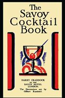 The Savoy Cocktail Book By Harry Craddock, (paperback), Martino Fine Books , on sale