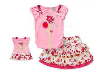 """Dollie and  Me Sz 10 /& 18/"""" Doll Matching outfit clothes or Pjs fit american girl"""
