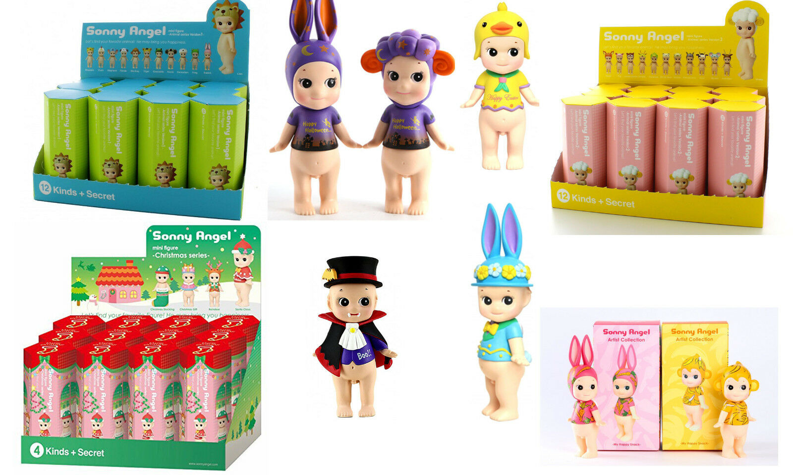 Sonny Angel Mini Figure Series Collection - US Seller