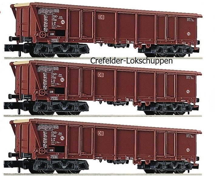 Fleischmann N 829354+829355+829356; 3 Roll CARRELLO TETTO Tamns 886 DB AG EP 5 neu&ovp