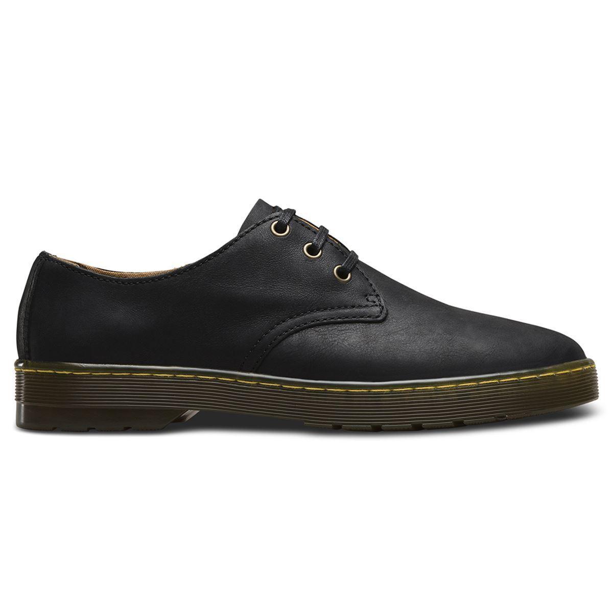 Dr.Martens Coronado 3 Eyelet Black Mens Shoes