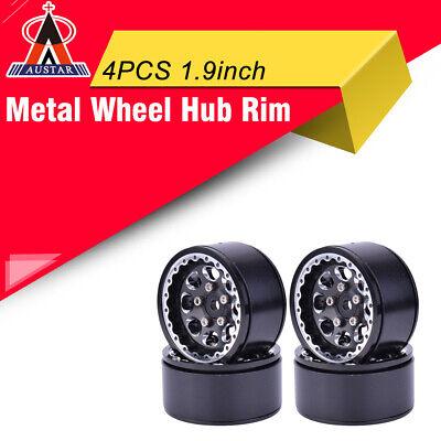 """4x AX-620 1.9/"""" Aluminum Wheel Hub Rim for 1//10 Axial SCX10 Traxxas D90 RC Car"""