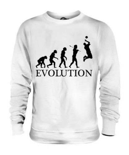 Voleibol Evolution Of Man Unisex Suéter Regalo Hombre Mujer Ropa