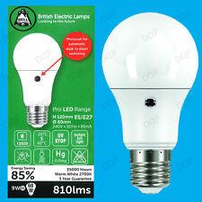 9W =60W LED GLS Abenddämmerung Bis Dawn Sensor Sicherheit Nacht Glühbirne,ES E27