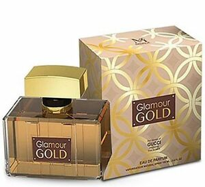 15a5596a9 GLAMOUR GOLD Women's Designer Impression 3.4 oz EDP Perfume by ...