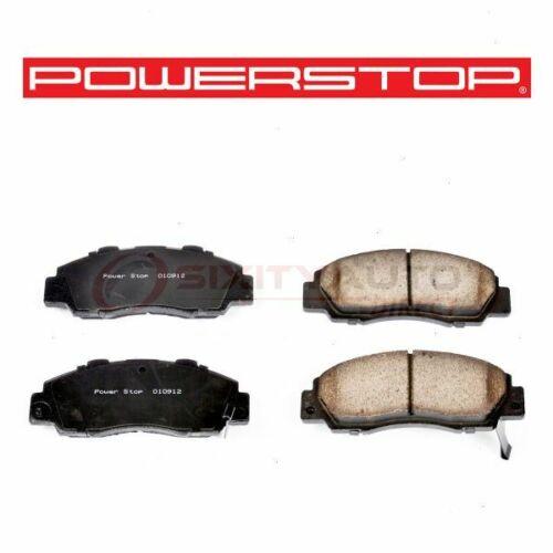 gx PowerStop Front Disc Brake Pad Set for 1993-2001 Honda Prelude 2.2L L4