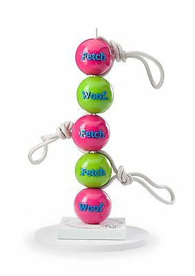 Planet Dog Orbee Tuff Green or Pink Woof /& Fetch Balls