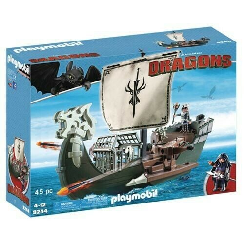 Playmobil Dragons How to to to Train Your Dragon Drago's Ship Set 5a199d