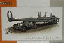 Meilerwagen V-2 Transporter, 1/72, Special Armour, Plastik , NEU