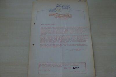 Parts & Accessories Manuals & Literature Reasonable 198101 Gebrüder Gmelin Prospekt 1953 To Win Warm Praise From Customers