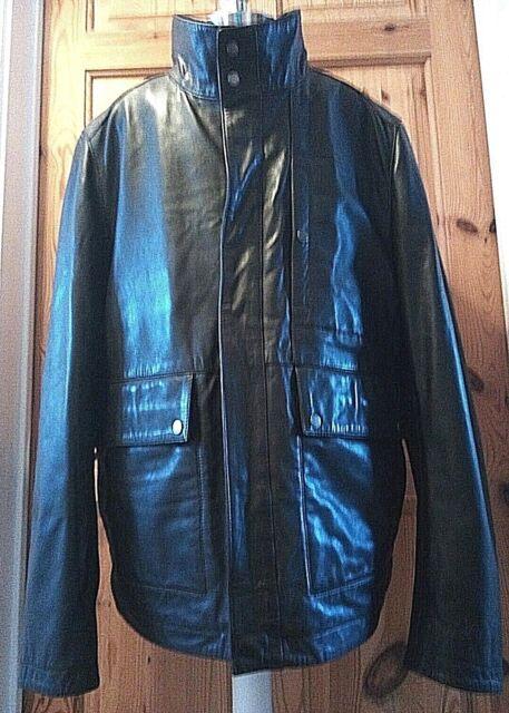 4c8105a7d Hugo Boss Mens Leather Jacket