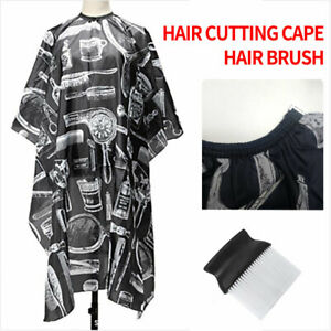 Pro-Salon-Barber-Brown-Hair-Cutting-Cape-Hairdressing-Hairdresser-Cloth-Apron