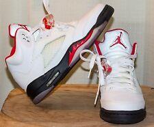 Jordan Retro Fire Red 5s   (Boys 5Y)