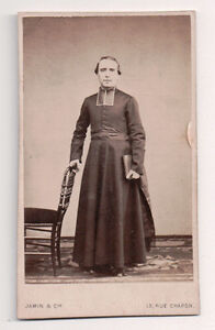 Vintage-CDV-Jean-Marie-Gaussuil-French-Cleric-Jamin-amp-Co-Photo-Paris