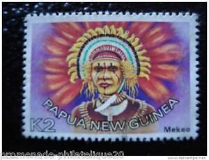Papua-Y-Nuevo-Guinea-Sello-Stamp-yt-N-319-Matasellados-I