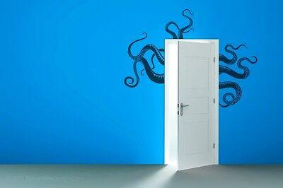 Giant Octopus Tentacles Vinyl Wall Art Home Decor Decal Sticker Graphics