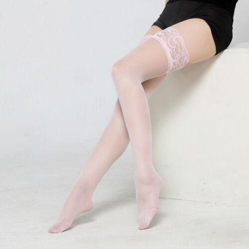 Fashion Women/'s Lace Hold Ups Stockings Thigh Highs Socks Hosiery Pantyhose