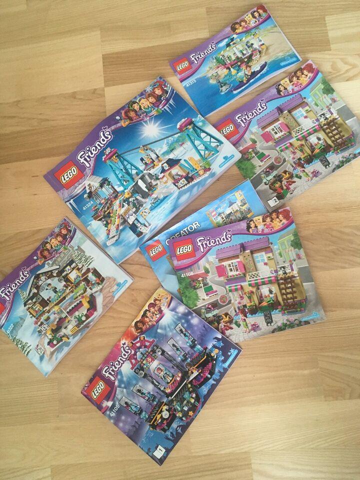 Lego Friends, Mange slags