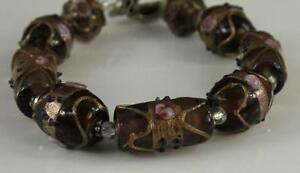 Magnetic Clasp Thin Braided Bracelet // Black - HMY ... |Modern Jewelry Clasp