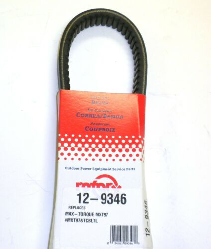 9346 Rotary Max Torque Go Kart Belt Compatible With MXT97
