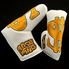 "Golf Blade Putter Headcover, Nike Bettinardi Odyssey Cleveland, ""Cash is King"""