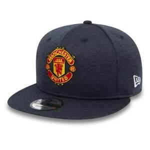 0a57d585e7fa Detalles de Gorra New Era 9Fifty Pl Manchester United Shadowtech Sp19 Azul  Hombre
