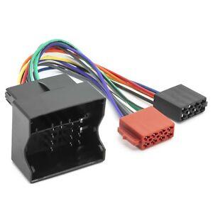 Auto-Radio-DIN-ISO-Adapter-Kabel-Anschluss-Stecker-fuer-BMW-5er-E39-E60-E61