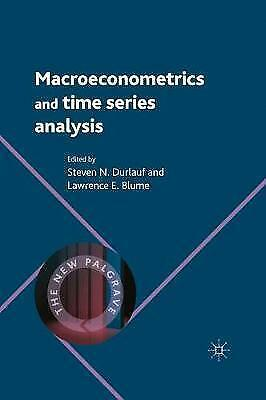 Macroeconometrics and Time Series Analysis by Palgrave Macmillan (Paperback,...