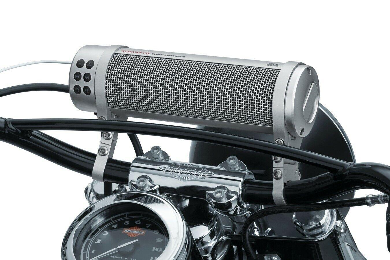 Kuryakyn RoadThunder Sound Bar Plus by MTX Satin Silver 2719