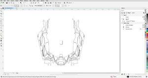 CAN AM MAVERICK X3 MAX 4 DOORS GRAPHIC VECTOR TEMPLATE
