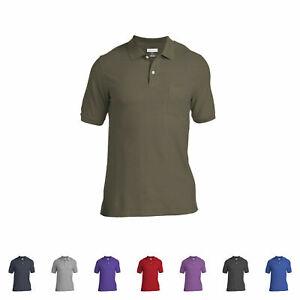 Logan & Martin Big Mens 100% Cotton Polo Shirts With Pockets in ...