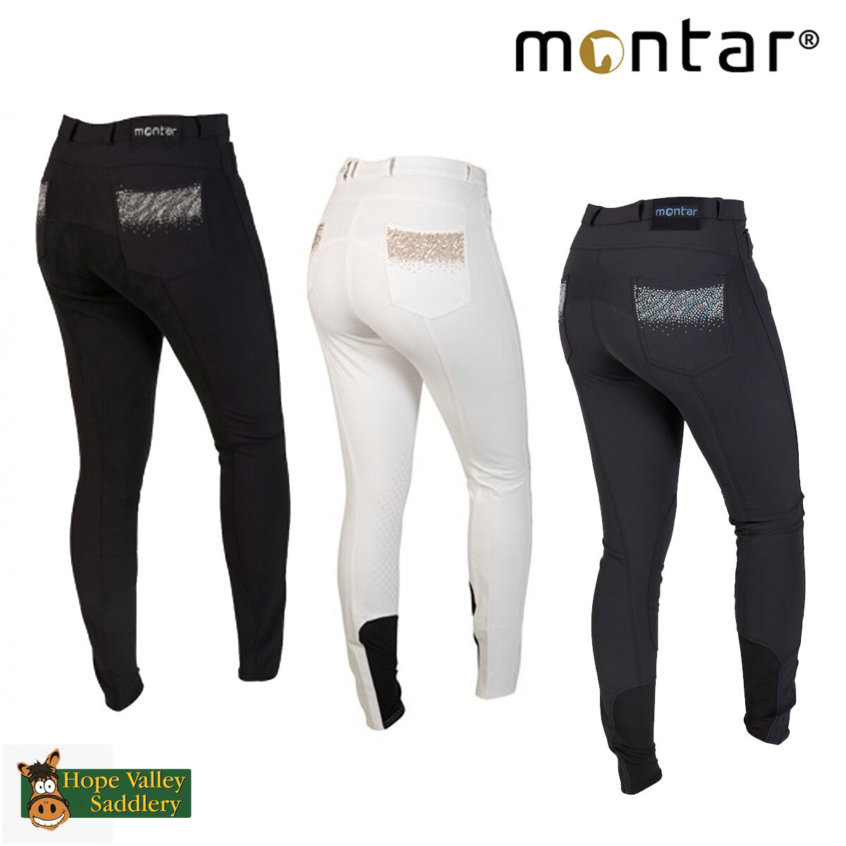 Montar Studs Kids Full Seat Breeches (2089) - Sale BNWT