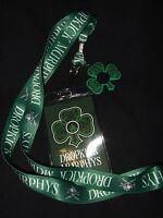 Dropkick Murphys Rock Band Clover Leaf Charm Lanyard Id Card Pin Badge Holder