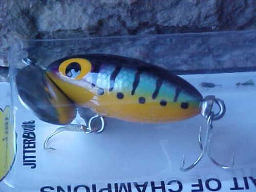 Arbogast Original 1//4oz Jitterbug TopWater Lure G630-05 PERCH for Bass//Pickerel