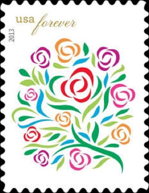 2013 46c Where Dreams Blossom, Flowers Scott 4764 Mint