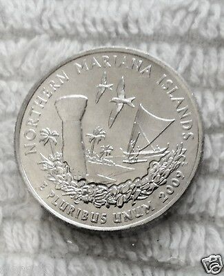 2009 P And D Mariana Islands UNCIRCULATED 2-Coin Set From US Mint