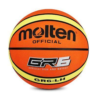 WOMEN Plastic Molten Official Size 6 Durable Outdoor 28.5/'/' GR6 Basketball NEW