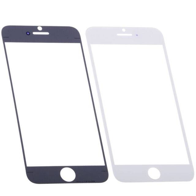 10 X New Replacement 4.7 IN Outter Glass Lens Screen Cover for iPhone 6 6G White