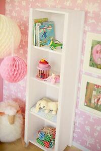 BioKinder™ Regal Bücherregal Kinderzimmer weiß lasiert Kiefer ...